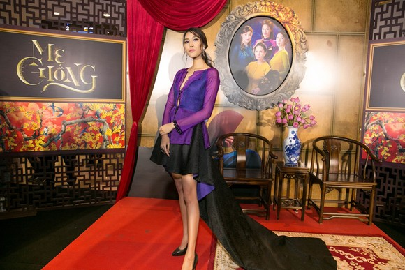 Sao Việt nô nức khoe váy áo ra mắt phim Mẹ chồng  ảnh 4