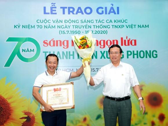 8 tác phẩm đoạt giải Cuộc vận động sáng tác ca khúc kỷ niệm 70 năm ngày truyền thống lực lượng TNXP Việt Nam ảnh 1