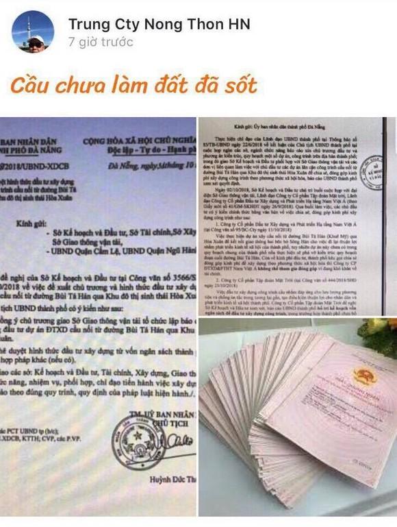 Khẩn: Đà Nẵng cảnh báo về giả văn bản, chữ ký Chủ tịch UBND thành phố Huỳnh Đức Thơ  ảnh 1