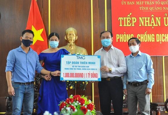 Tập đoàn Thiên Minh (TMG) đã ủng hộ 1 tỷ đồng cho Quảng Nam chống dịch Covid-19