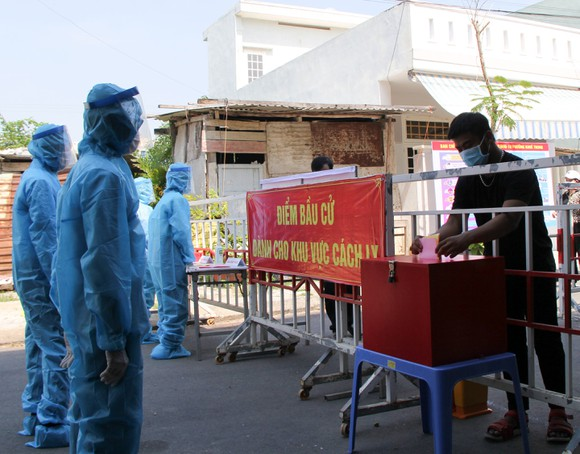 Bầu cử ở vùng có dịch Covid-19 được Đà Nẵng thực hiện như thế nào? ảnh 4