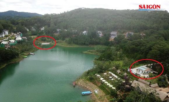 Ngang nhiên xây kè 30m ngăn hồ Tuyền Lâm - Đà Lạt ảnh 3