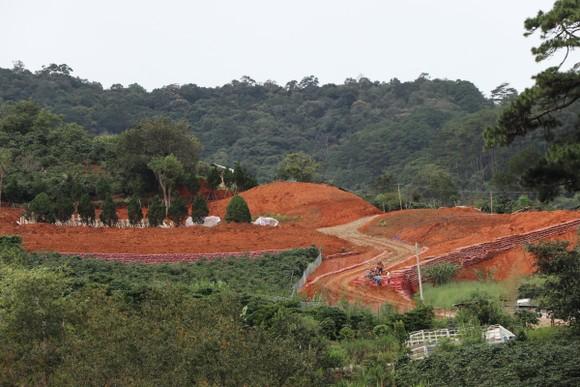 Hàng chục căn nhà xây dựng trái phép giữa đất rừng ở Lâm Đồng ảnh 6