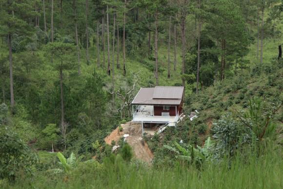 Hàng chục căn nhà xây dựng trái phép giữa đất rừng ở Lâm Đồng ảnh 4
