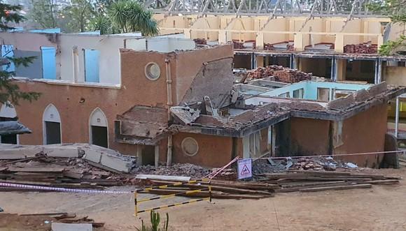 Tai nạn khi sửa chữa cơ sở ĐH Kiến trúc TPHCM tại Đà Lạt,  2 người chết ảnh 1