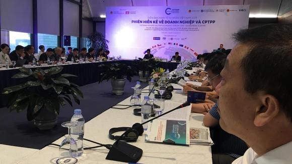 Phiên thảo luận về CPTPP tại Diễn đàn Kinh tế tư nhân Việt Nam sáng 2-5