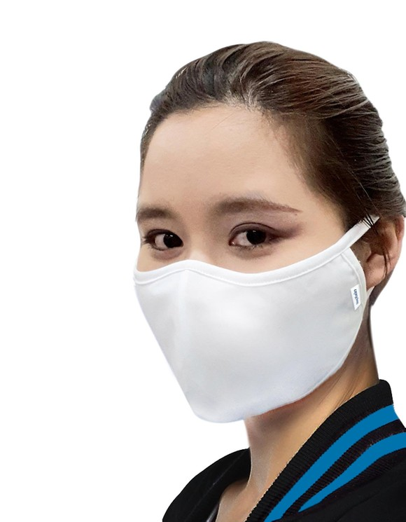 Vinatex họp báo ra mắt khẩu trang 'chống lây nhiễm virus khi nói chuyện' ảnh 4