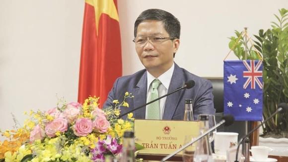 Bộ trưởng công thương Việt Nam hội đàm trực tuyến với Úc và Mỹ về vấn đề gì? ảnh 2