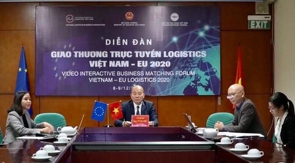 Doanh nghiệp Việt Nam và EU kết nối logistics ảnh 1