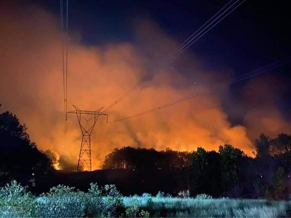 Cháy rừng ở Huế, cắt tải khẩn cấp bảo vệ đường dây 500kV Bắc - Nam ảnh 2