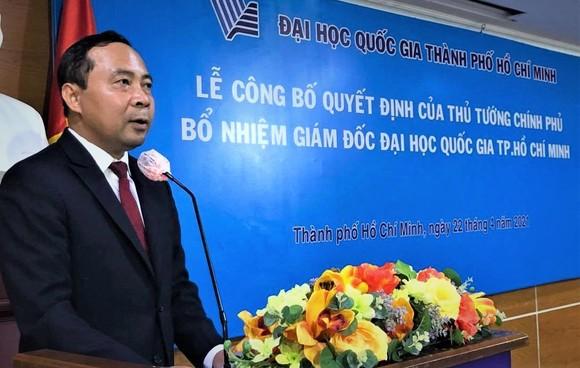Trao quyết định bổ nhiệm ông Vũ Hải Quân làm Giám đốc Đại học Quốc gia TPHCM ảnh 2