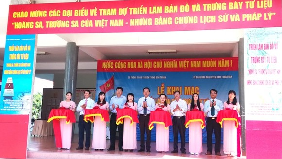 Bình Thuận: Triển lãm Hoàng Sa, Trường Sa của Việt Nam - những bằng chứng lịch sử và pháp lý ảnh 1