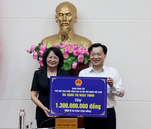 Phó Chủ tịch nước Đặng Thị Ngọc Thịnh thăm và làm việc tại tỉnh Bình Thuận ảnh 2