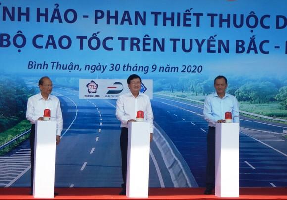 Khởi công tuyến cao tốc Vĩnh Hảo - Phan Thiết ảnh 2