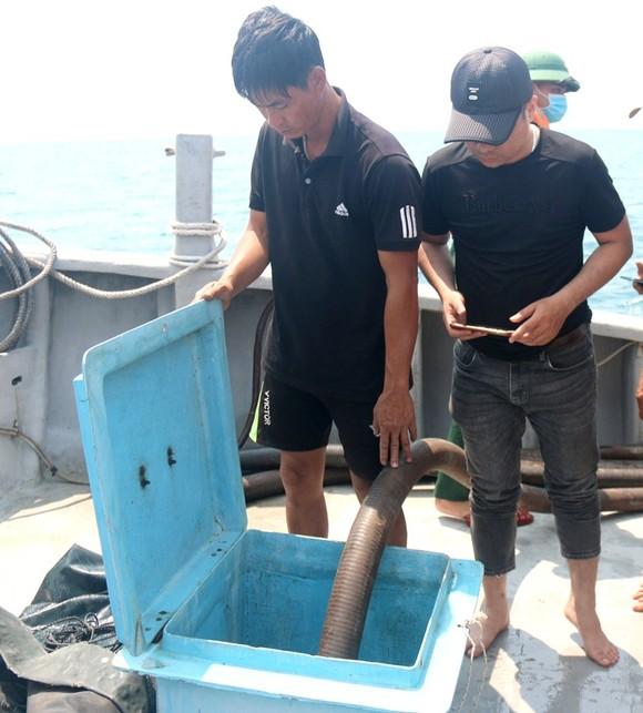 4.000 lít dầu lẫn nước trong con tàu chở tro bay nhiệt điện bị chìm đã được hút xong ảnh 2