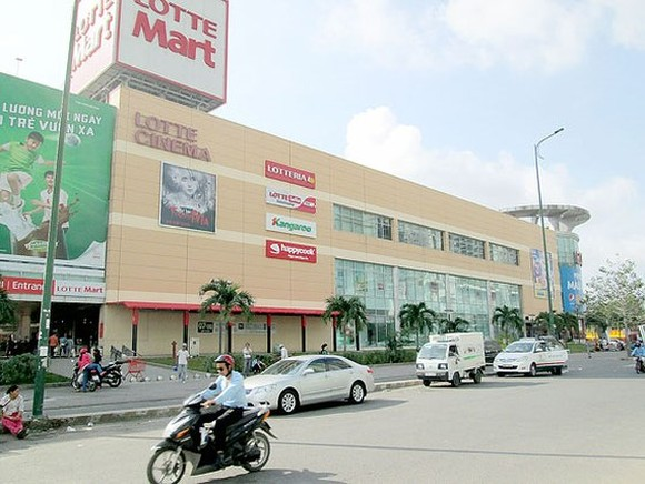 Lotte has strongly invested in Vietnam in retail field (Photo: SGGP)
