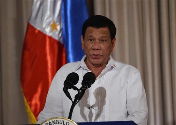 Philippine President Rodrigo Duterte (Photo: AFP/VNA)
