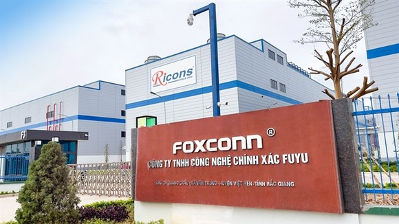 A company of Foxconn in Bac Giang Provine. .Photo ricons.vn