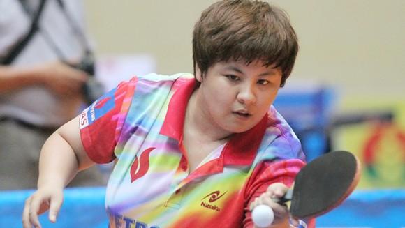 Tay vợt Mai Hoàng Mỹ Trang sẽ cùng đội tuyển nữ Việt Nam tham dự giải.                        Ảnh: Dương Thu