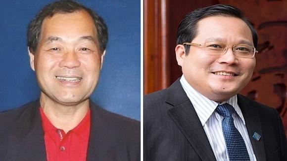 Ông Trầm Bê và ông Phan Huy Khang
