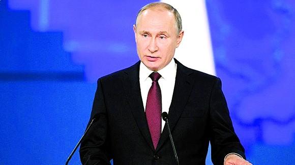 Tổng thống Putin đọc thông điệp liên bang