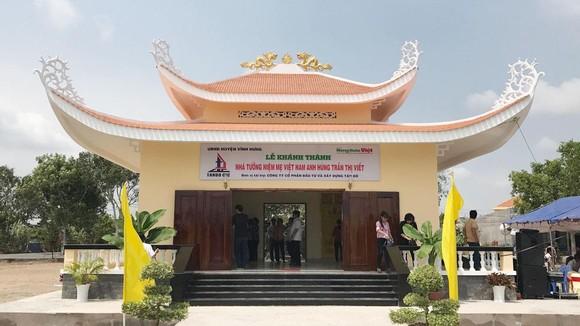 Khánh thành Nhà tưởng niệm Mẹ VNAH cao tuổi nhất Việt Nam ảnh 1