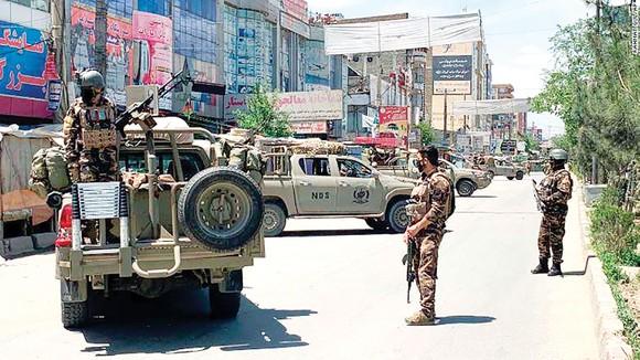 Tiến trình hòa bình tại Afghanistan bị đe dọa  ảnh 1