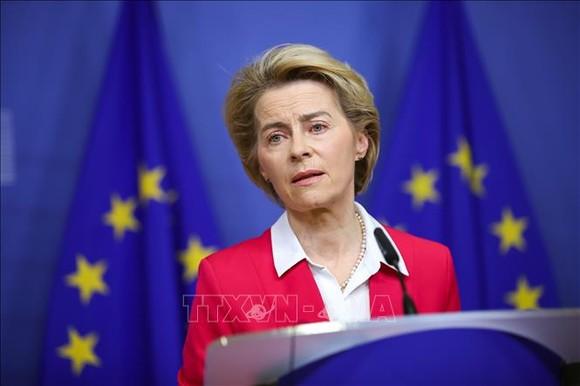 Chủ tịch Ủy ban châu Âu (EC), bà Ursula von der Leyen. Ảnh: TTXVN
