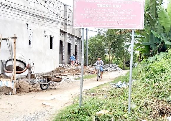 Một khu dân cư tự phát ở TP Cà Mau thiếu hạ tầng kỹ thuật