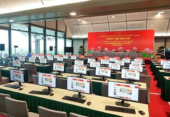 Trung tâm Báo chí Đại hội XIII sẵn sàng cho ngày khai trương