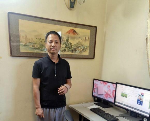 Shen Kaidong, chủ bút của tờ báo Angkor Today. Ảnh mtv-today.com