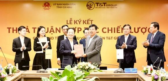Tập đoàn T&T GROUP hợp tác chiến lược với 2 tỉnh Lào Cai và Cà Mau ảnh 2