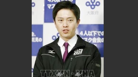 Tỉnh trưởng Osaka Hirofumi Yoshimura. Ảnh: Kyodo/ TTXVN