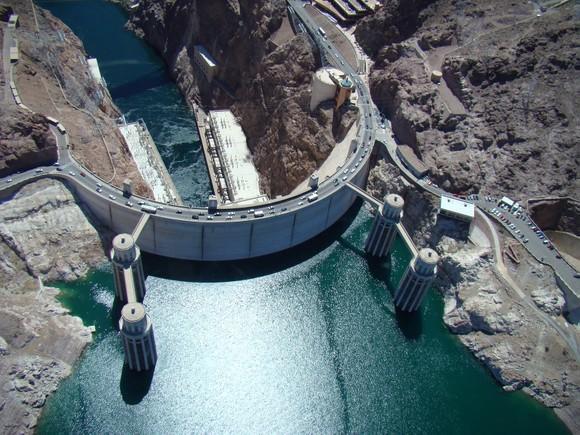 Đập thủy điện Hoover Dam ở Mỹ