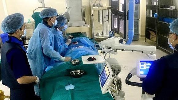 Bệnh viện K sử dụng nhiều thiết bị y tế hiện đại để chẩn đoán, điều trị ung thư