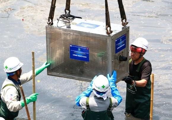 Khởi động công nghệ Nano - Bioreactor Nhật Bản làm sạch sông Tô Lịch ảnh 1
