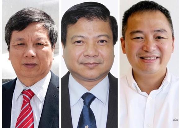 3 chuyên gia hàng đầu về điều trị Covid-19, gồm: Nguyễn Gia Bình, Nguyễn Văn Kính và Nguyễn Lân Hiếu (từ trái sang phải)