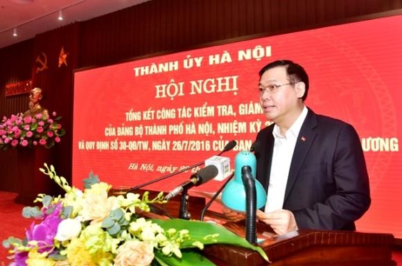 Hà Nội kỷ luật 59 tổ chức đảng và trên 3.100 đảng viên ảnh 1