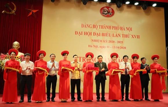 Khai trương Trung tâm báo chí phục vụ Đại hội Đảng bộ TP Hà Nội  ảnh 1