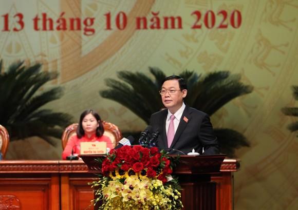 Kết thúc Đại hội Đảng bộ TP Hà Nội lần thứ XVII: yêu cầu người đứng đầu dám nghĩ, dám làm ảnh 2