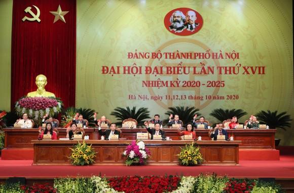 Kết thúc Đại hội Đảng bộ TP Hà Nội lần thứ XVII: yêu cầu người đứng đầu dám nghĩ, dám làm ảnh 4