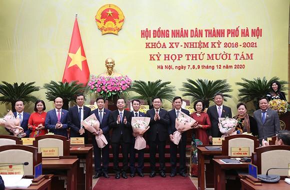 Hà Nội bầu mới Chủ tịch HĐND và 5 Phó Chủ tịch UBND TP  ảnh 2