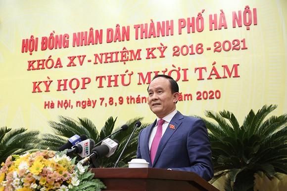 Hà Nội bầu mới Chủ tịch HĐND và 5 Phó Chủ tịch UBND TP  ảnh 1