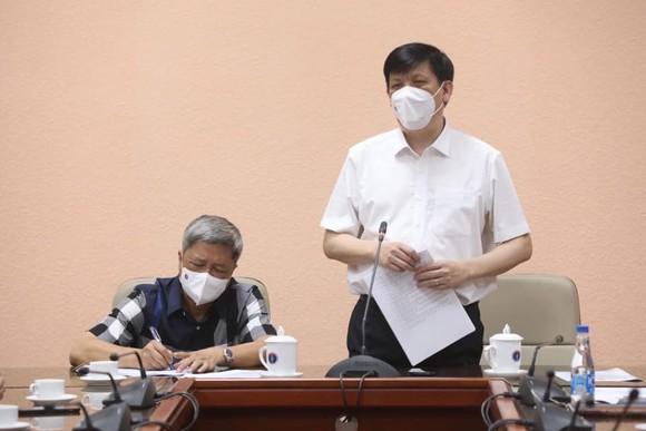 Thứ trưởng Nguyễn Trường Sơn và đoàn công tác thực hiện cách ly đúng quy định ảnh 1