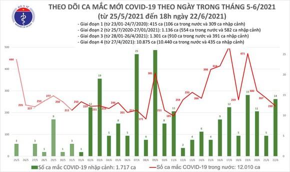 Tối 22-6, cả nước thêm 97 ca mắc Covid-19, riêng TPHCM có 63 ca ảnh 1