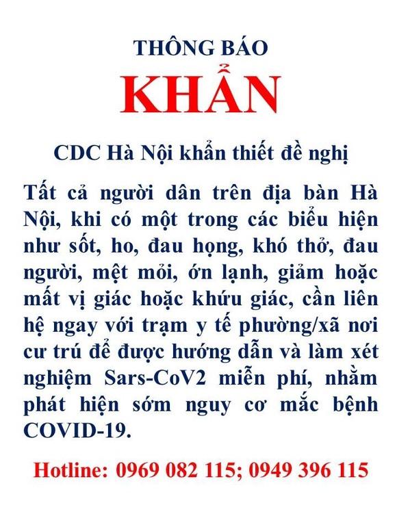 Sáng 2-8, Hà Nội có 38 ca mắc tại cộng đồng, trong đó 1 ca bệnh tử vong tại Bệnh viện Tim ảnh 2