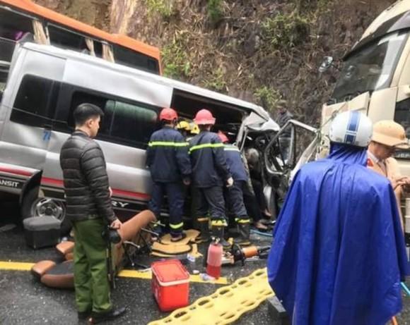 Tai nạn liên hoàn tại Thừa Thiên – Huế khiến ít nhất 6 người thương vong ảnh 1