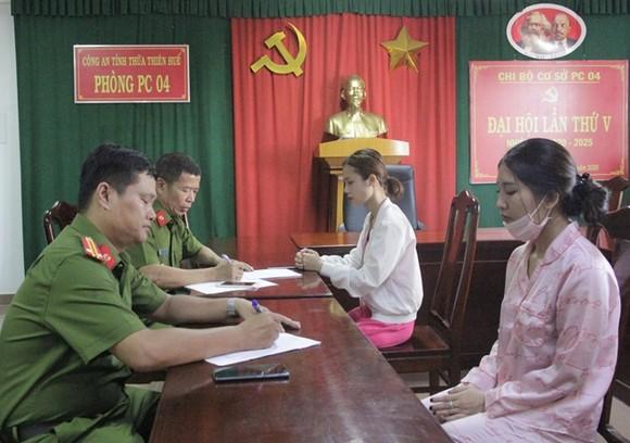 Công an tỉnh Thừa Thiên - Huế thông tin cách thức hoạt động của đường dây ma túy do nữ sinh viên năm 2 cầm đầu ảnh 1