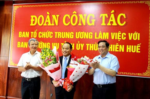 Ban Bí thư chuẩn y đồng chí Nguyễn Quốc Đoàn làm Phó Bí thư Tỉnh ủy Thừa Thiên – Huế ảnh 1
