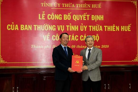 Ông Phan Thiên Định làm Bí thư Thành ủy Huế ảnh 1